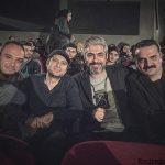 عکس سلفی از تفریح مهدی پاکدل و دوستان در تئاتر