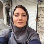 سلفی جالب مهناز افشار در پشت صحنه فيلم سينمايي داركوب