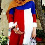 جدیدترین مدل مانتو بارداری شیک ایرانی 2017