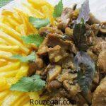 خوراک گوشت گوساله + طرز تهیه خوراک گوشت ایرلندی و روسی جدید