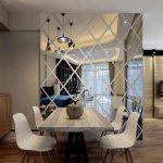 دیوار آینه ای + طراحی شیک ترین مدل های دیوار آینه ای در منزل