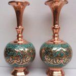 گالری شیک ترین مدل گلدان برنجی قدیمی و سلطنتی در بازار