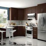 گالری جدیدترین مدل کابینت چوبی برای آشپزخانه های لوکس