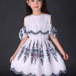 جدیدترین مدل لباس بچه گانه مجلسی دخترانه طرح 2017 – 96