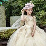 شیک ترین مدل لباس بچه گانه دخترانه مجلسی و عروس 2017 – 2018