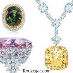 جدیدترینمدل جواهراتنگین دار برند Tiffany & Co
