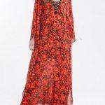 ژورنال شیک ترینمدل لباس مجلسیحریر آستین بلند زنانه و دخترانه