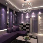 جدیدترین طراحی رنگ بنفش در دکوراسیون داخلی خانه شما