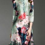 گالری جدیدترین مدل پیراهن زنانه و دخترانه طرح دار ۲۰۱۷ – ۹۶