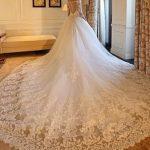 گالری جذاب ترین مدل لباس عروس دنباله دار  2017 – ۹۶