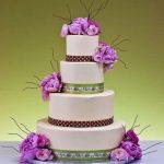 جدیدترین مدل کیک عروسی با گل های طبیعی طرح  2017 – 96