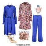 آموزش ست کردن رنگ لباس خانم ها برای عید نوروز 96 + تصاویر
