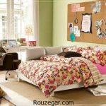 انواع مدل دکوراسیون اتاق خواب دختر و پسر جوان 2017 – 96