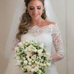 ژورنال زیباترین مدل لباس عروس پوشیده و شیک 2017 – 96