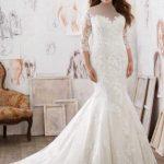 ژورنال شیک ترین مدل لباس عروس سایز بزرگ برند morilee
