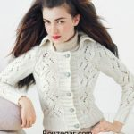 گالری جدیدترین مدل ژاکت بافتنی دخترانه طرح 2017 – 96