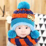 گالری جدیدترین مدل شال گردن و کلاه بچه گانه زمستانی 2017 – 96