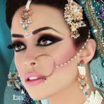 ژورنال شیک ترین مدل سرویس طلا عروس هندی 2017