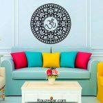 جدیدترین دکوراسیون داخلی منزل با رنگ های شاد در سبک مدرن