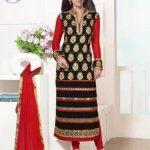 زیباترین مدل مانتو مجلسی هندی دخترانه و زنانه طرح 207 – 96 سری دوم