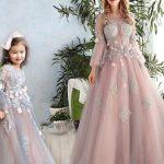 جدیدترین مدل لباس ست مادر و کودک مجلسی 2017 – 2018