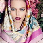 ژورنال جذاب ترین مدل روسری جدید زنانه و دخترانه 2017 – 96