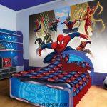 جدیدترین دکوراسیون اتاق خواب کودک طرح بتمن و مرد عنکبوتیسری دوم