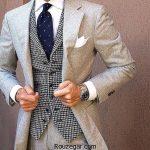 شیک ترین مدل کت و شلوار مردانه جدید با رنگ بندی کامل
