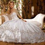 مدل لباس عروس ۲۰۱۷ + شیک ترین مدل لباس عروس پرنسسی ۲۰۱۷