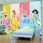 مدل کاغذ دیواری اتاق خواب دخترانه + شیک ترین مدل کاغذ دیواری سه بعدی