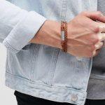 دستبند مردانه چرمی 2017 + شیک ترین مدل دستبند مردانه چرمی 2017