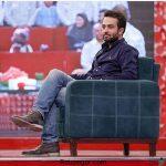 عکس جناب خان و مصطفی زمانی در پشت صحنه خندوانه