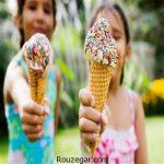 عوارضبستنی خوردن بر بدن در فصل تابستان  بستنی و سلامتی