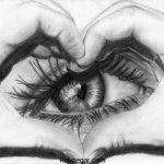 زیباترین تصاویر نقاشی با مداد عاشقانه و زیبا