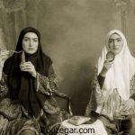 عکس دوران قاجار و تصاویر دیدنی از زنان و دختران دوره قاجار