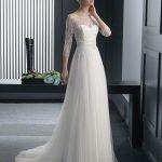 مدل لباس عروس گیپور و کار شده 2015