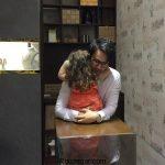 عکس دیده نشده شاهرخ استخری و دخترش پناه