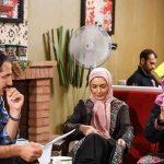 عکس های جدید پشت صحنه سریال شمعدانی