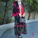 جدیدترین مدل مانتو زنانه مجلسی شیک ایرانی 2017