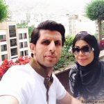 عکس های جدید و دیدنی وحید طالب لو و همسرش