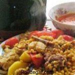 آموزش گام به گام طرز تهیه آبگوشت لپه و لیمو سنتی خوشمزه برای 2 نفر