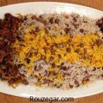 عدس پلو با گوشت + طرز تهیه عدس پلو نذری برای 100 نفر