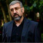 علی انصاریان با آشا محرابی عکس گرفت