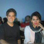 عکس های عروسی امیر علی نبویان و همسرش بهار نوروزپور
