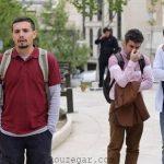 عکس امیر کاظمی در سریال فوق لیسانسه ها