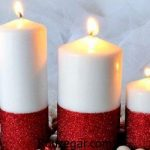 آموزش شمع سازی با گل خشک با وسایل و نکات مهم شمع سازی در خانه