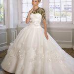 شیکترین مدل لباس عروس پرنسسی 2015 سری چهارم