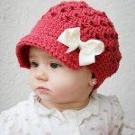 جدیدترین و شیک ترین مدل کلاه بافتنی نوزاد دخترانه