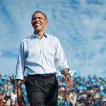 تمرین رقص ایرانی باراک اوباما در کاخ سفید + عکس