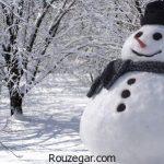 سری جدید جملات و متن زیبا درباره زمستان به همراه عکس پروفایل برفی